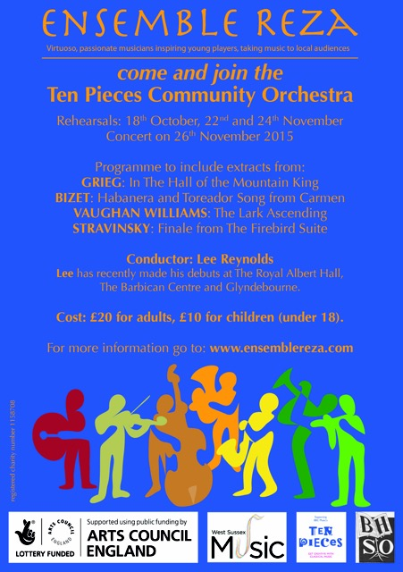Poster for Community Orchestra