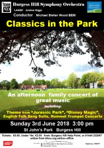Classics in the Park 2018