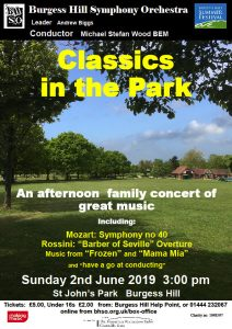 Classics in the Park 2019